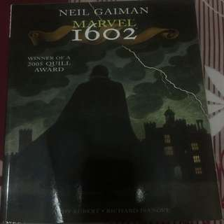 Marvel's 1602 by neil gaiman and andy kubert tpb