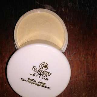 Bedak Tabur Sariayu Plus Energizing Aromatic
