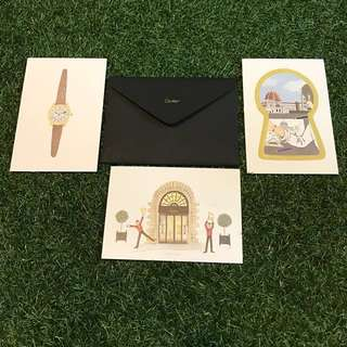 Authentic Cartier Postcards (from boutique)