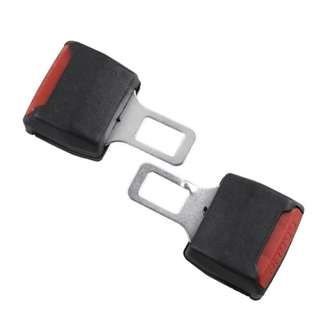 2PCS EXTENDER EXTENSION SAFETY SEAT BELT BUCKLE INSERT CLIP UNIVERSAL