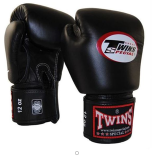 Twins Special Boxing Gloves 12oz (Black)