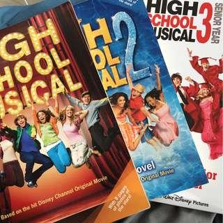 High School Musical Paperbacks