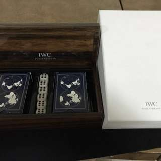IWC POKER DICE GAME SET