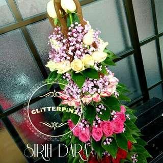 Wedding Fresh Flower Sirih Dara