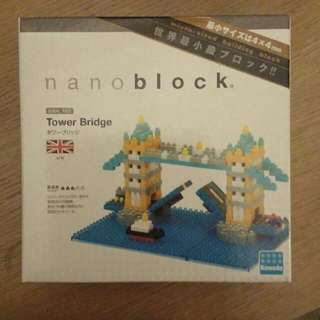 包郵Nano Blocks Tower Bridge