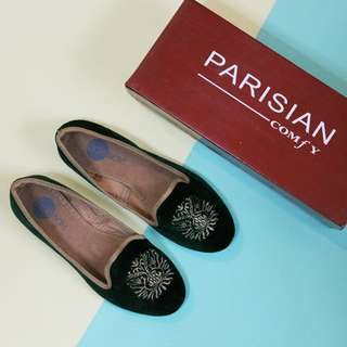 NEW: Solemate Suede Flats