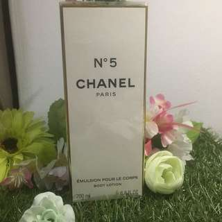 Authentic Chanel N5 Body Lotion 200ml