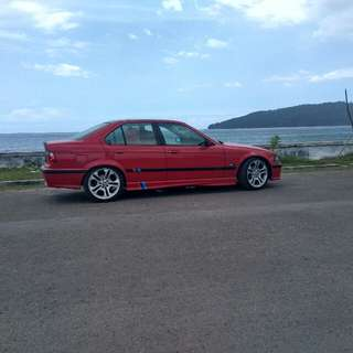 BMW 323i E36 1996 Red on Red Limited Edition