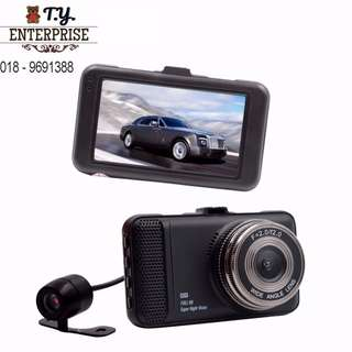 1080P Full HD T659 car recorder DVR vehicle blackbox 170 degree 3.0 inch screen