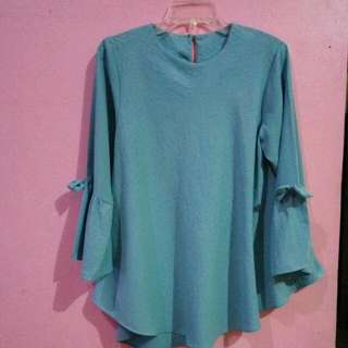 (PRELOVED) Blouse Warna Mint