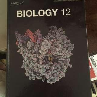 Nelson Grade 12 Biology Textbook