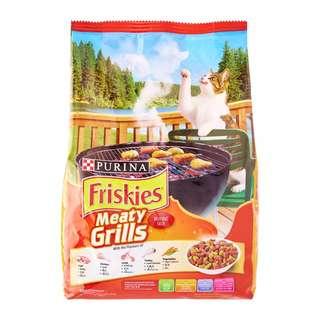 Purina Friskies 1kg 1.1kg Kitten Cat Food Adult Frieskies Makanan Kucing