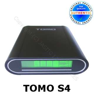 Authentic TOMO S4 18650 4-slots 2-in-1 battery charger and smart power bank