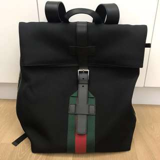 100% authentic Gucci backpack 99.9% new
