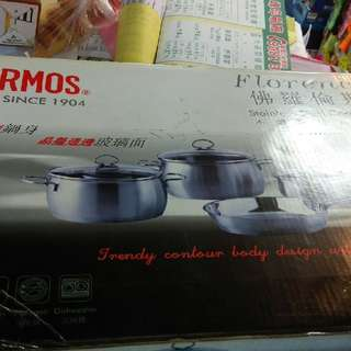 THERMOS 24cm Stainless Steel (304)Frying Pan 膳魔師24cm(304)不鏽鋼煎鑊