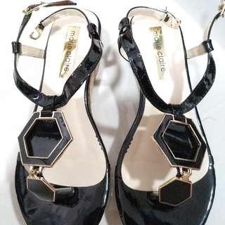 #carousellxShopBack Marie Claire Sepatu Wedges Heels