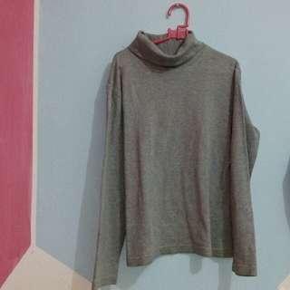 Long Sleeve Turtleneck Grey
