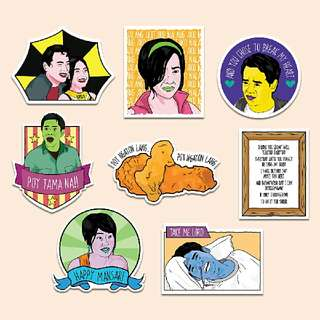 One More Chance Sticker Pack