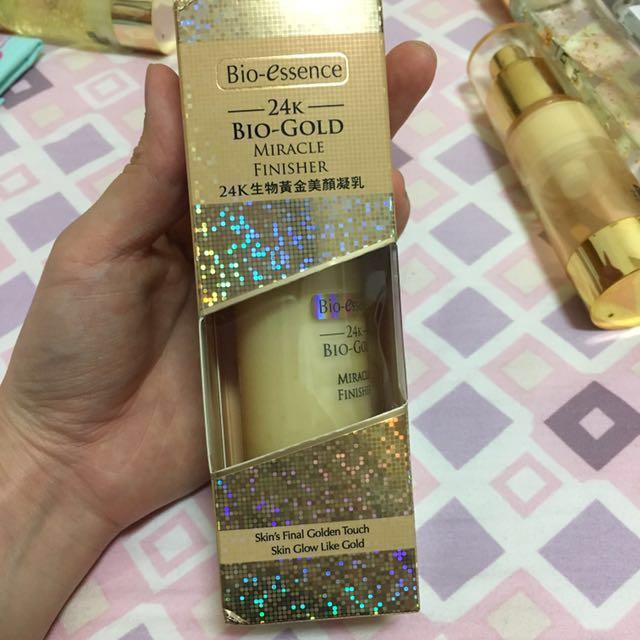 全新)碧歐斯24K生物黃金美顏凝乳