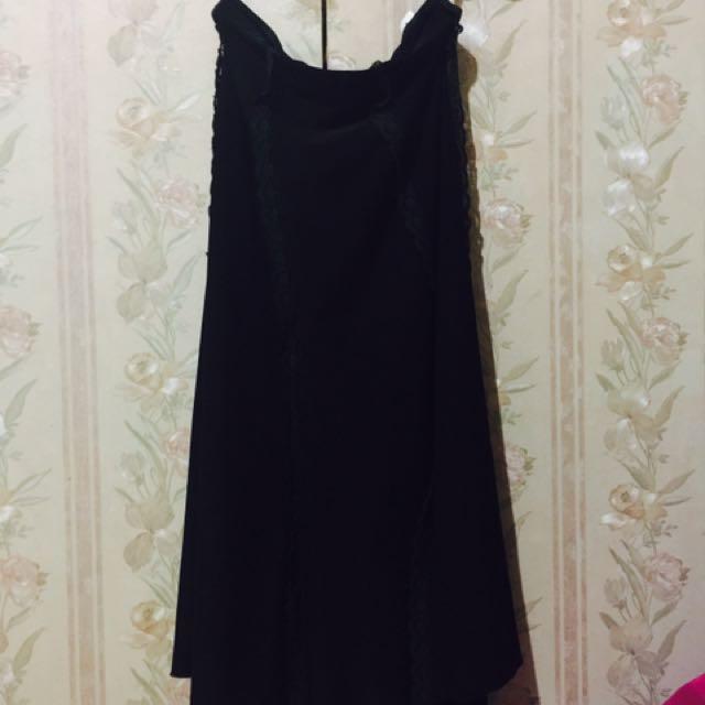 Wanko's 2in1 Mini Black Dress || Skirt