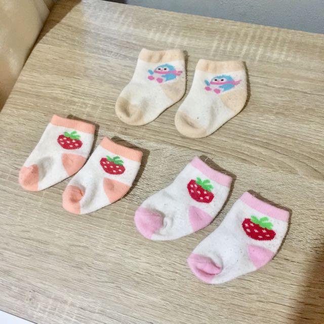 3pcs kaos kaki bayi