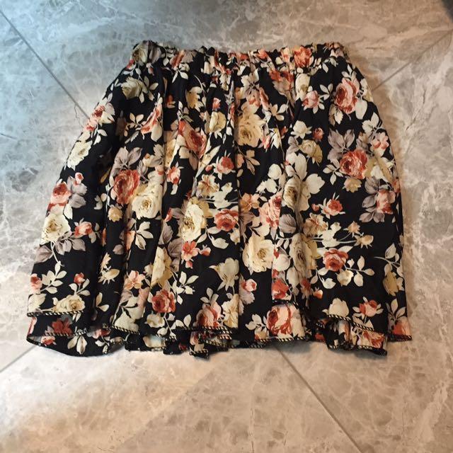 夏日花卉短裙✨#女裝久久出清