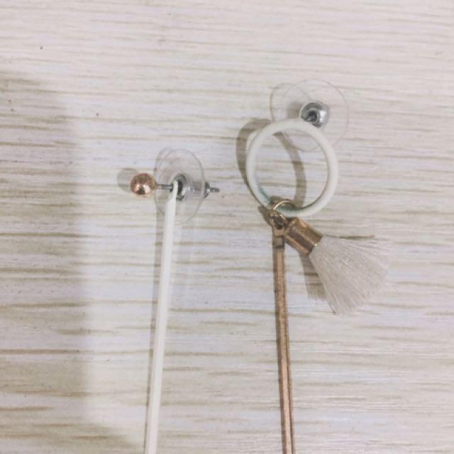 造型流蘇耳環