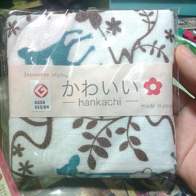 日本帶回 小方巾