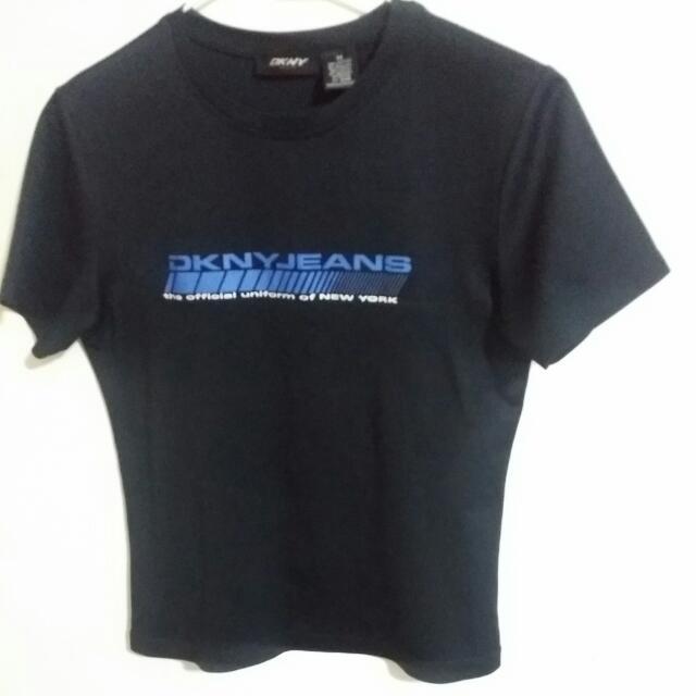 💖 DKNY T Shirt  黑色上衣 運動衣