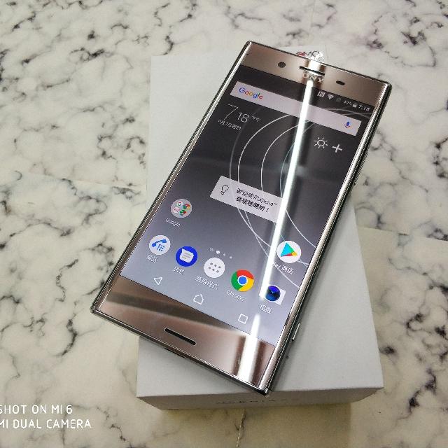 二手 Sony XZ Premium 鏡銀64G 保固中