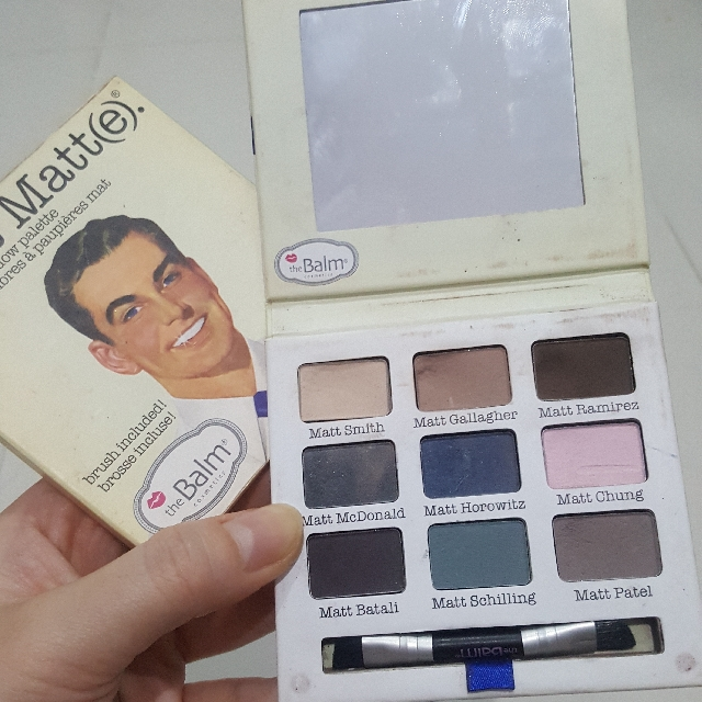 Authentic The Balm Meet Matte Eyeshadow Pallete *limited Edition