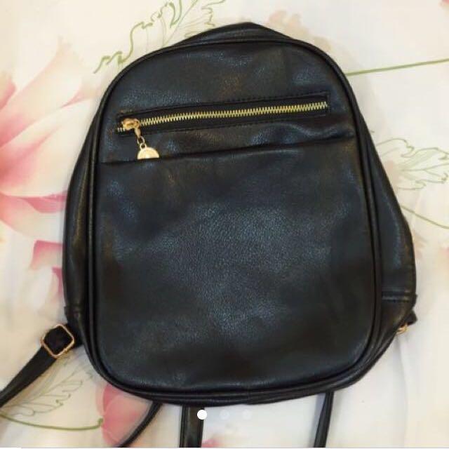 Backpack Semi Leather