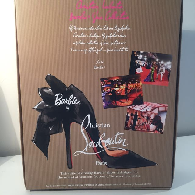 Barbie Christian Louboutin Shoe Collection Gold Label 2010