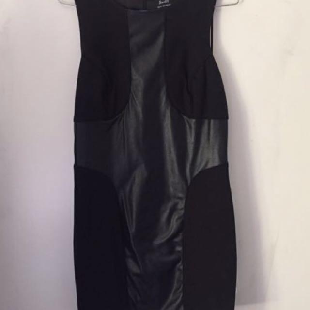 Bardot Black Dress Size 12