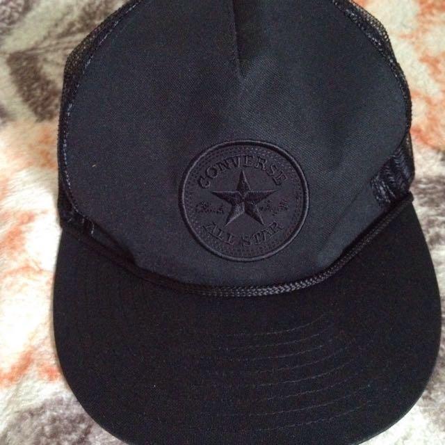 Black Converse All Star Trucker Cap 20ebf508620