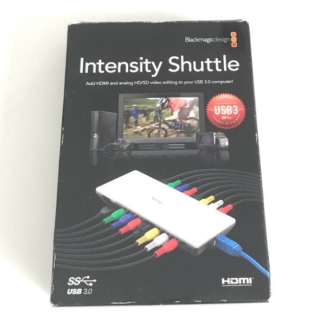Blackmagic Design Intensity Shuttle Usb 3 Home Appliances Tvs Entertainment Systems On Carousell