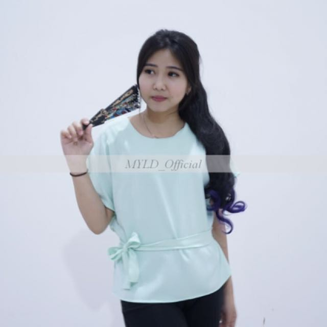 blouse mint tosca