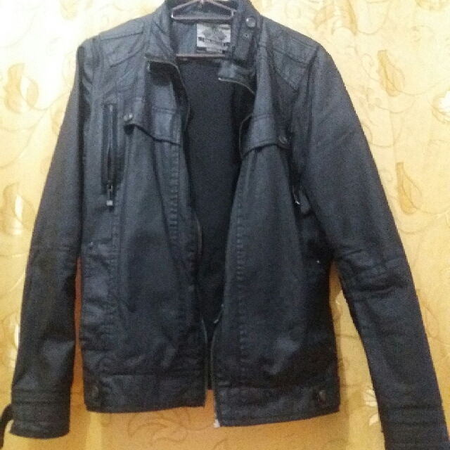 BNY Leather Jacket (Medium)