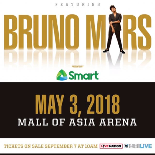 Bruno Mars Concert Tickets