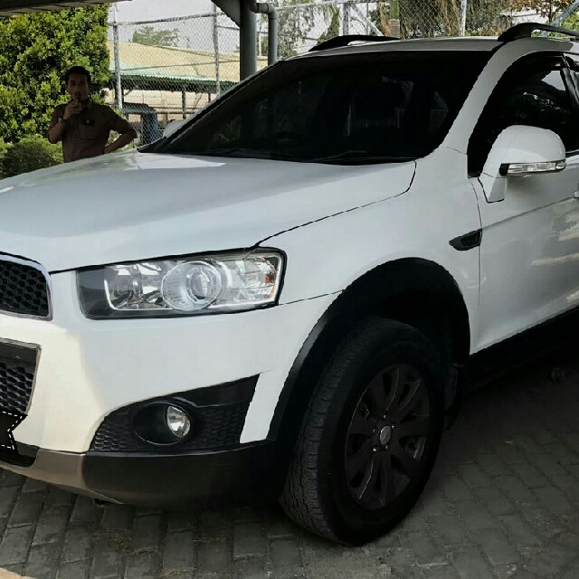 Chevrolet Captiva Fl 24 At Bensin 2011 Putih Cars Cars For Sale