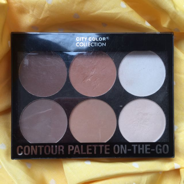 City Color Contour Pallete On The Go
