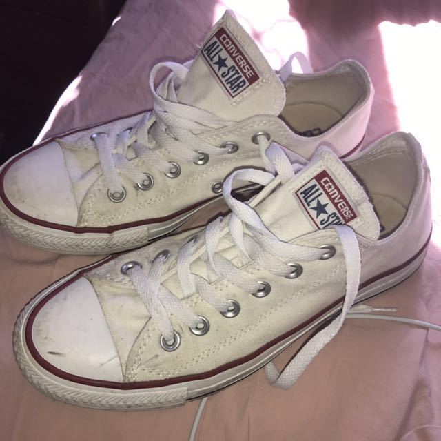 Converse Chuck Taylor All Star Low Sneakers in White