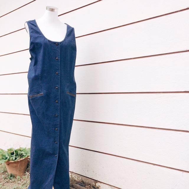 [D01] Denim Dress