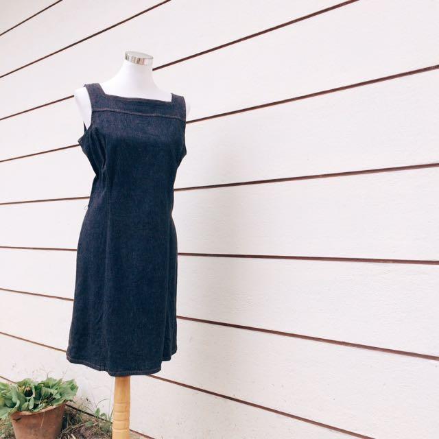[D03] Denim Dress
