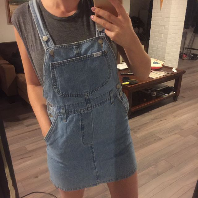 Denim Lee Dungeree Dress