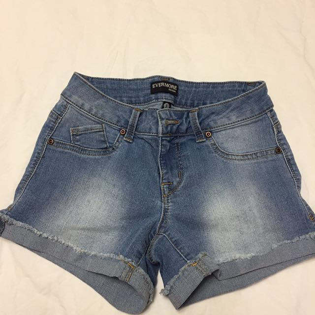 Denim Shorts (worn once)