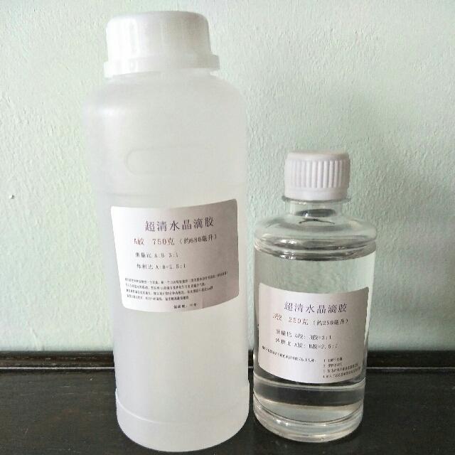 Slow Dry AB Epoxy Resin Crystal Transparent