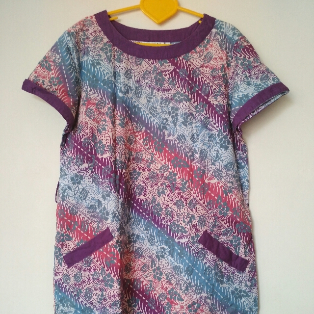 Dress Batik Cantik 💜