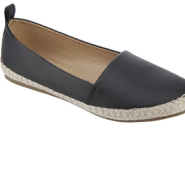 Espadrille flats/fresh from Australia