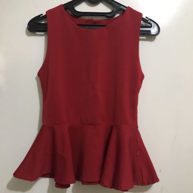 Flare top red